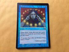 Miscut Foil Brainstorm MM Misprint GENUINE MTG Magic Card Mercadian Masques #2