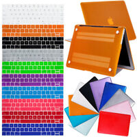 "Luxury Clear Rubberized Hard Case Shell + Keyboard Cover For Macbook Air 11"" 13"""