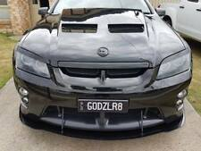 Holden HSV Clubsport E-Series 1 Front Splitter Lip with Side Fins