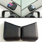 2pcs Universal Black Car Accessories Phone Organizer Storage Bag Box Holder