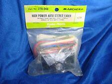 RARE Vintage NOS Radio Shack Archer High Power Audio Stereo Fader Kit