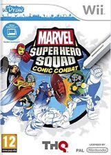 MARVEL SUPER HERO SQUAD COMIC COMBAT U DRAW Wii NEUF SOUS BLISTER D'ORIGINE VF