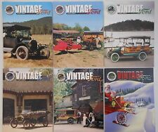 Model T Club of America THE VINTAGE FORD Car Magazine 6 Back Issues 2001