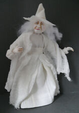 Dolls House Miniature White Witch  1-12TH Scale
