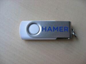 BD1170 USB-Stick 3 GB mit Hamer Werbeaufdruck