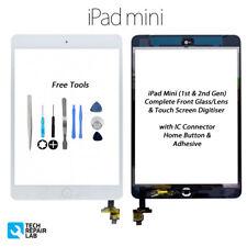 NUOVO IPAD MINI 1 & 2 COMPLETO VETRO FRONTALE / Digitalizzatore Touch Screen