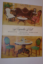 VINTAGE 1960s FURNITURE CATALOG OF 1850s REPRODUCTIONS! SOFAS/CHAIRS/LAMPS/MORE+