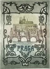 PRAGA Small Signed Aquatint Etching - CONTEMPORARY