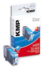 KMP Patrone C83 für Canon CLI-526C Pixma iP4850 iP4950 iX6550 MG5150 etc. cyan