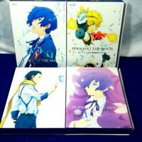 PERSONA 3 The Movie Limited Edition Blu-ray Complete All 4 series sets Rare