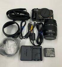 Panasonic LUMIX DMC-GF3X 12.1 MP Digital Camera - Black (Kit w/  14-42mm Lens)