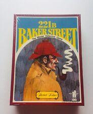 221 B Baker Street The Master Detective Game Sherlock Holmes Sealed Hansen H-23