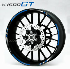 K1600GT motorcycle wheel decals rim stickers set Bmw motorrad stripes k1600 GT