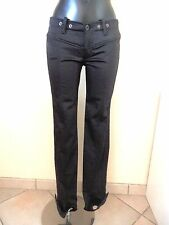 DIESEL - TROUSERS SPINDLE - BLACK - NEW - SIZE 28us either 38fr - AUTHENTIC