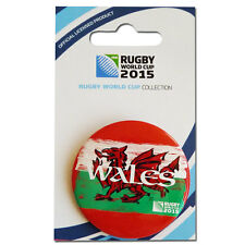 Rugby World Cup 2015 Wales Button Badge