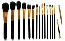 16 Pcs Professional Make Up Brush Foundation Brushes Kabuki Makeup Set black H65