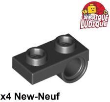 Lego Technic 2x Brique Brick 1x14 hole gris foncé//dark bluish gray 32018 NEUF
