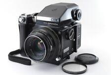 [Exc++++] Zenza Bronica ETR w/75mm f/2.8, Grip, AE Finder, 120 Film Back #112203