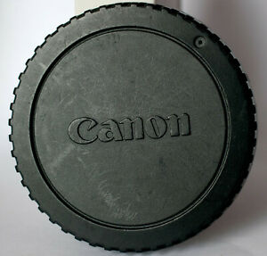 Genuine Canon EOS body cap.