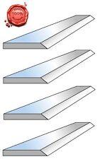 4 Fers de dégauchisseuse HSS 18% en 310 x 20 x 2.5 mm - Top qualité !