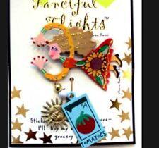 Fanciful Flights Stick Pin by Karen Rossi Gardner Pin Gift Card With Poem Nip
