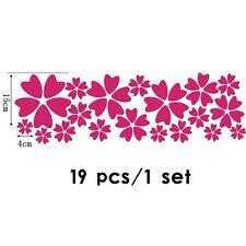 Wall Stickers Home Decor Room Window Cling DIY Decal Mural Flower Petal
