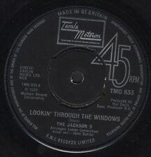 """Jackson 5 viendo a través de las ventanas/Love Song TMG 833 Reino Unido Motown 1972 7"""" WS EX/"""