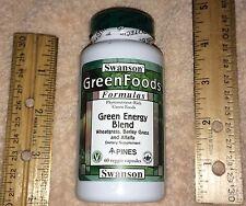 Green Energy Blend (vegetarian safe), with Wheatgrass, Barley Grass &  Alfalfa