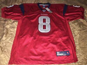Houston Texans Matt Schaub #8 NFL Reebok Jersey Sz 52 *New* Red Stitched