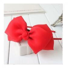 Fashion Bow Gift Girls  Ribbon Headband Accessories Hair Band
