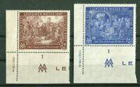 Alliierte Besetzung 941 - 942 I C DV postfrisch Messe Leipzig mit Druckvermerk