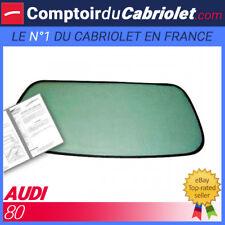 Lunette arrière claire pour Audi 80 Cabriolet fermeture éclair