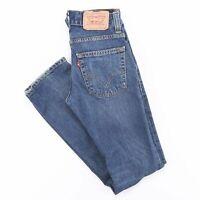 Vintage LEVI'S 511 Slim Straight Fit Men's Blue Jeans W28 L32