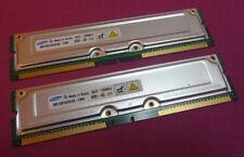 Mémoires RAM Samsung RDRAM