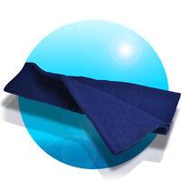 Kenford PA Lautsprecher Bespannfilz 150 x75cm PA-Boxen Bespannstoff Filz Blau