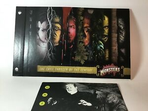 Universal Monsters Style Guide for Frankenstein Dracula Wolfman Mummy etc RARE