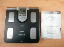 Omron BF508 Karada Scan Body Composition Monitor Scales Black Instructions