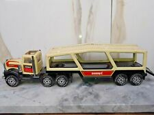 1980'S BUDDY L BOAT HAULER CARRIER METAL & PLASTIC TOY TRUCK