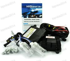 AC100W HID Xenon Headlight Conversion KIT Bulbs 9006 HB4 White 6000k