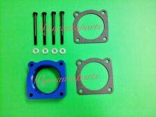 Vortex Flow Throttle Body Spacer Fit 02-06 Nissan Altima Sentra SE-R SPEC V BLUE