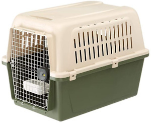 Ferplast Carrier for large dogs ATLAS 50 CLASSIC, Pet carrier with bowl metal x