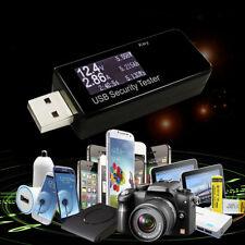 USB Detector Voltmeter Ammeter Power Capacity Tester Voltage Current Meter