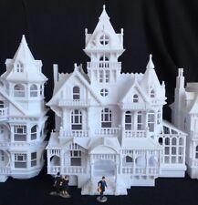 Miniature Victorian #5 Castle House Train Layout Tower House HO Scale Gauge