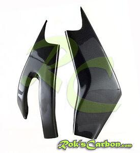 Carbon swingarm covers Schwingenschoner Yamaha YZF R6 2006-2015