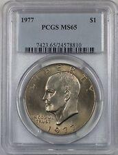 1977 Eisenhower  Ike Dollar $1 Coin PCGS MS65 (BR-37 J)
