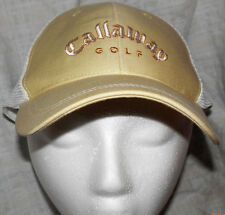 Callaway Ladies Golf Hat/Cap Adjustable Yellow NWOT