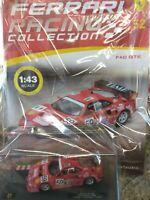 FERRARI F40 GTE 24H LE MANS 1996 1:43 FERRARI RACING C. #52 Mib DIE-CAST