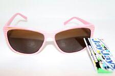 JayJays Brand Retro Pink Fashion Square Sunglasses NEW