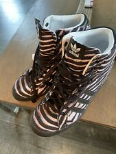 ADIDAS Hidden Wedge Animal Print Sneakers NWOT US SIZE 9