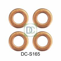 Ford Focus 1.8 TDCI Delphi Diesel Injector Washers / Seals Pack of 4